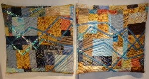 2 pillow cases in the Twinkling tracings style