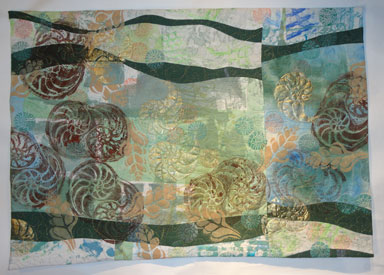 """Fossil Bed 23"""" X 32.5"""" $ 188.00"""