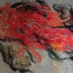 """Red Nebula  18"""" X 24"""""""