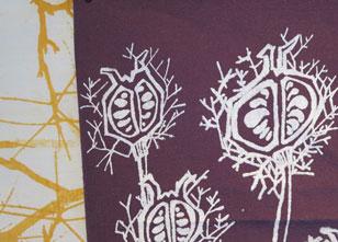 Stencel work-Close up