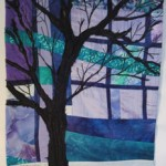 "Out the Window  16.5"" X 21.5"" $125.00"