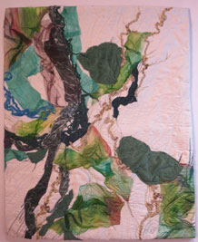 "Acanthite: Foundations XXIV 18"" X 23"" $ 150.00"