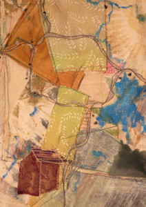 Map-Memory Yellowstone close up