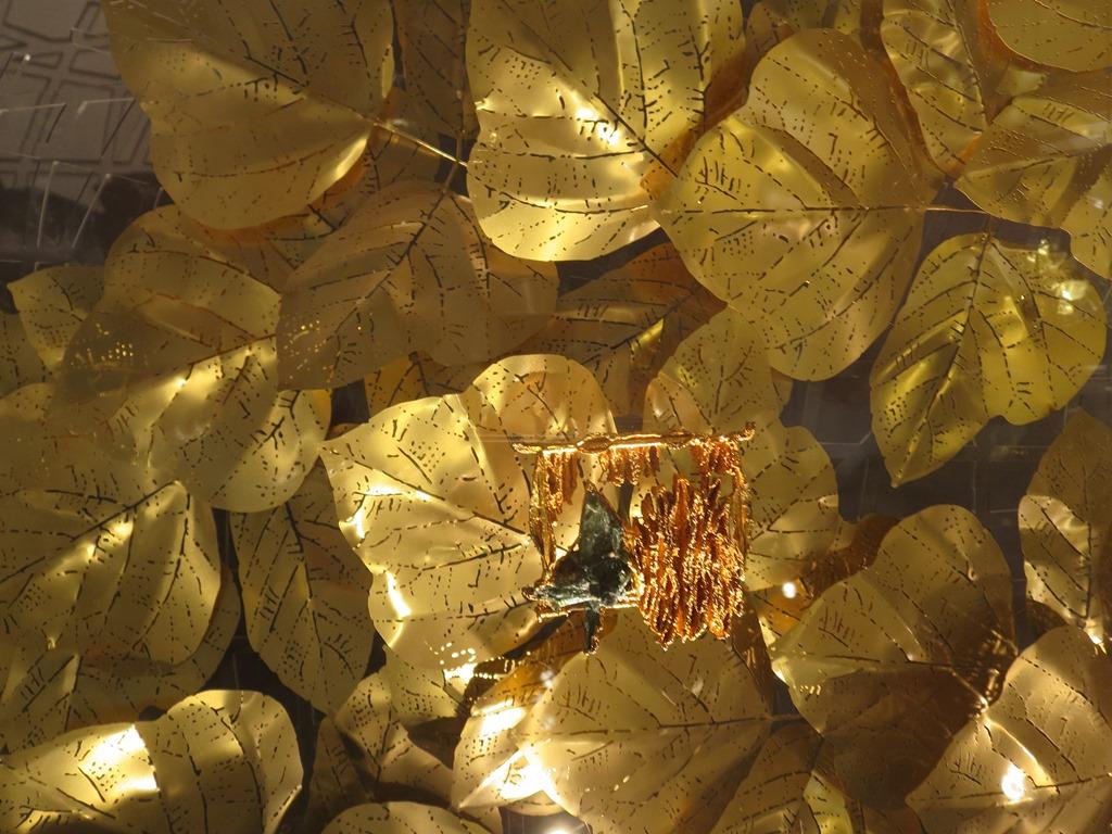 gold leaf?