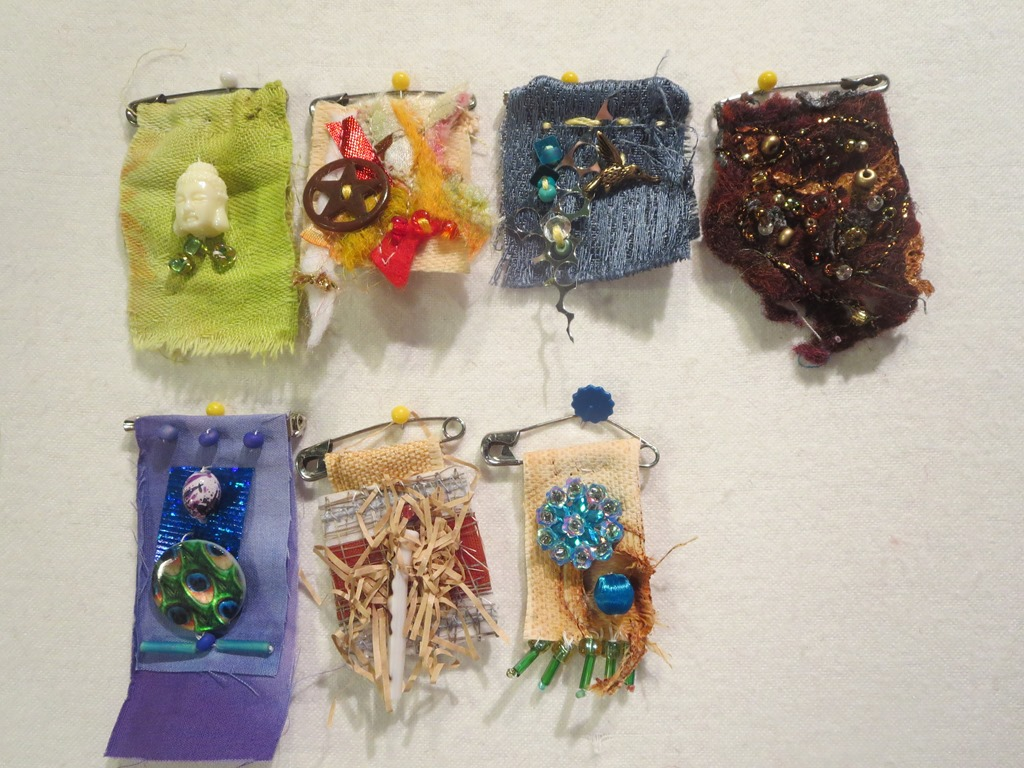 Prayer Flag Pins