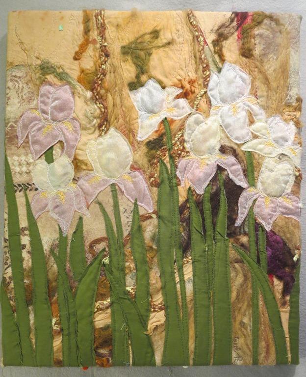 """White Iris's 15"""" X 19"""